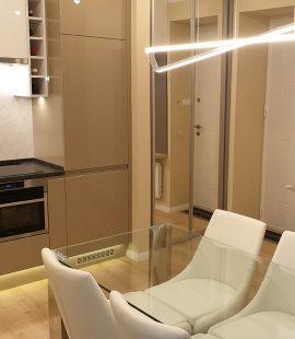 budai lakás új köntösben