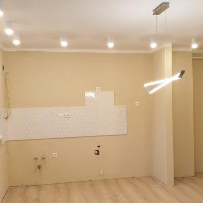 felújított budai lakás - végeredmény